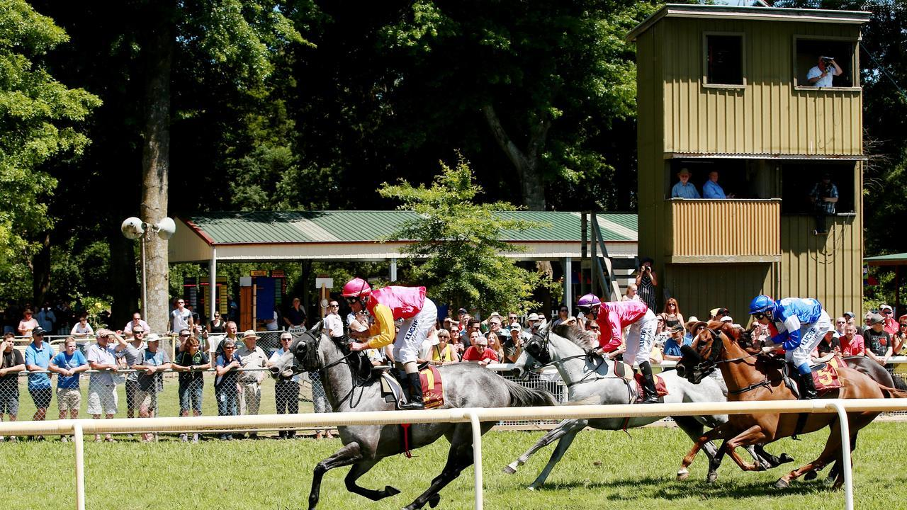 Meetings like the Healesville picnic races won't go ahead in October or early November. Picture: Colleen Petch