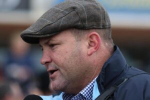 Peter Moody was on hand to see his filly Paris score at Cranbourne.