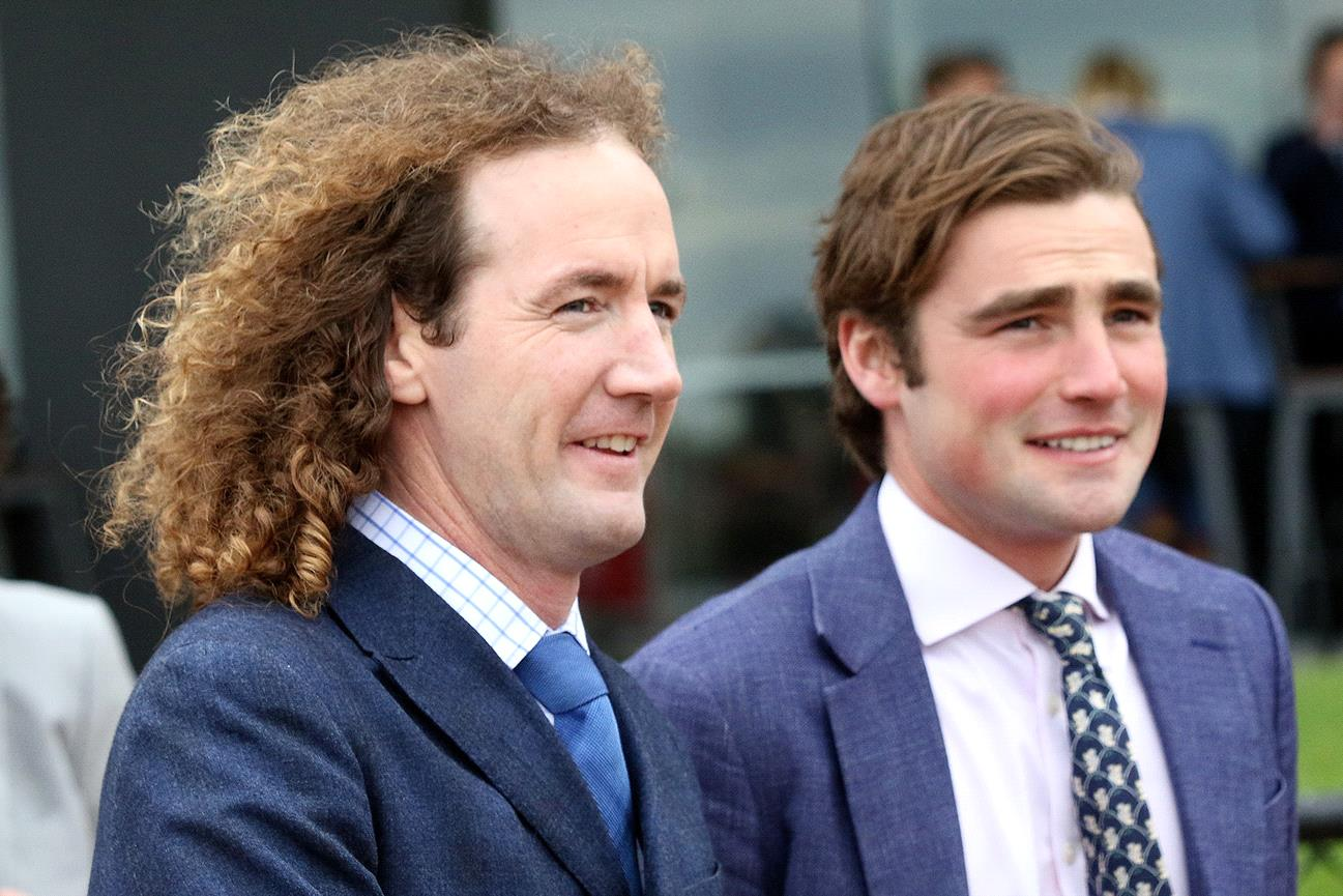 Ciaron Maher (left) and David Eustace added another training double to their premiership tally.