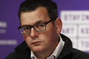 Victorian Premier Daniel Andrews announced racing could continue during the Stage 4 COVID-19 restrictions.
