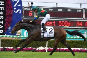 Alligator Blood was stripped of his Magic Millions win.