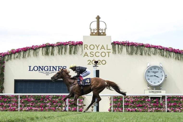 Stradivarius wins the Ascot Gold Cup.