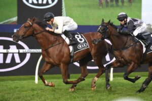 Noble Boy claimed the Winter Stakes.
