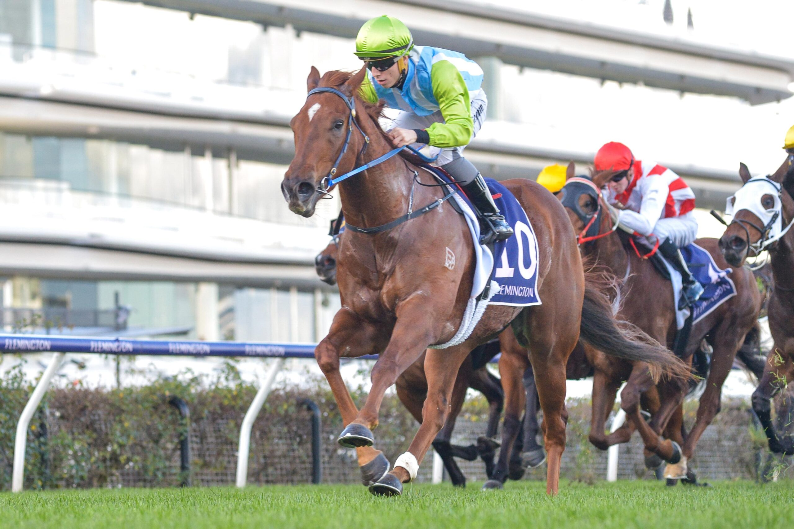 Front Page wins the A.R Creswick Stakes.