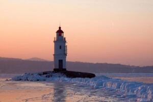 Vladivostok in Russia is beautiful in winter. Hopefully Vladivostok the racehorse can provide a beautiful result at Sale.