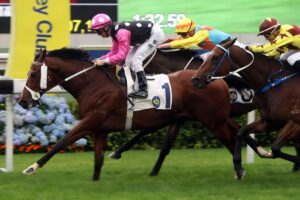 Beauty Generation notched a record-breaking win at Sha Tin on Sunday.