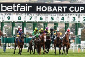 We've got a rare Hobart meeting on Saturday.