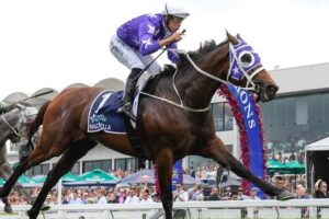 Invincibella won the Magic Millions Fillies and Mares' for the third straight year.