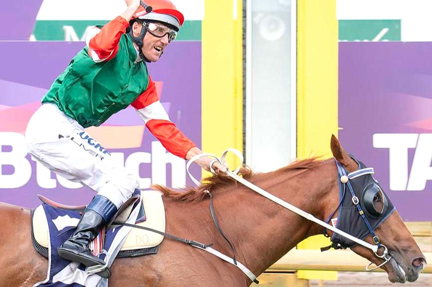 Will Damien Oliver and Achernar Star overcome a bad gate in the Railway Stakes?