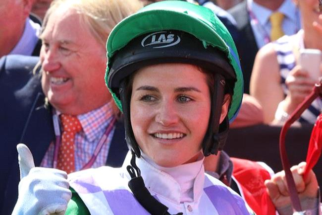 Michelle Payne has given owner Brae Sokolski a clip for dumping Linda Meech from his Victoria Derby runner.