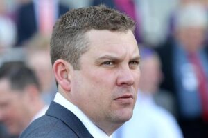 Trent Busuttin (above) and training partner Natalie Young will send out Vigere at Cranbourne on Wednesday.