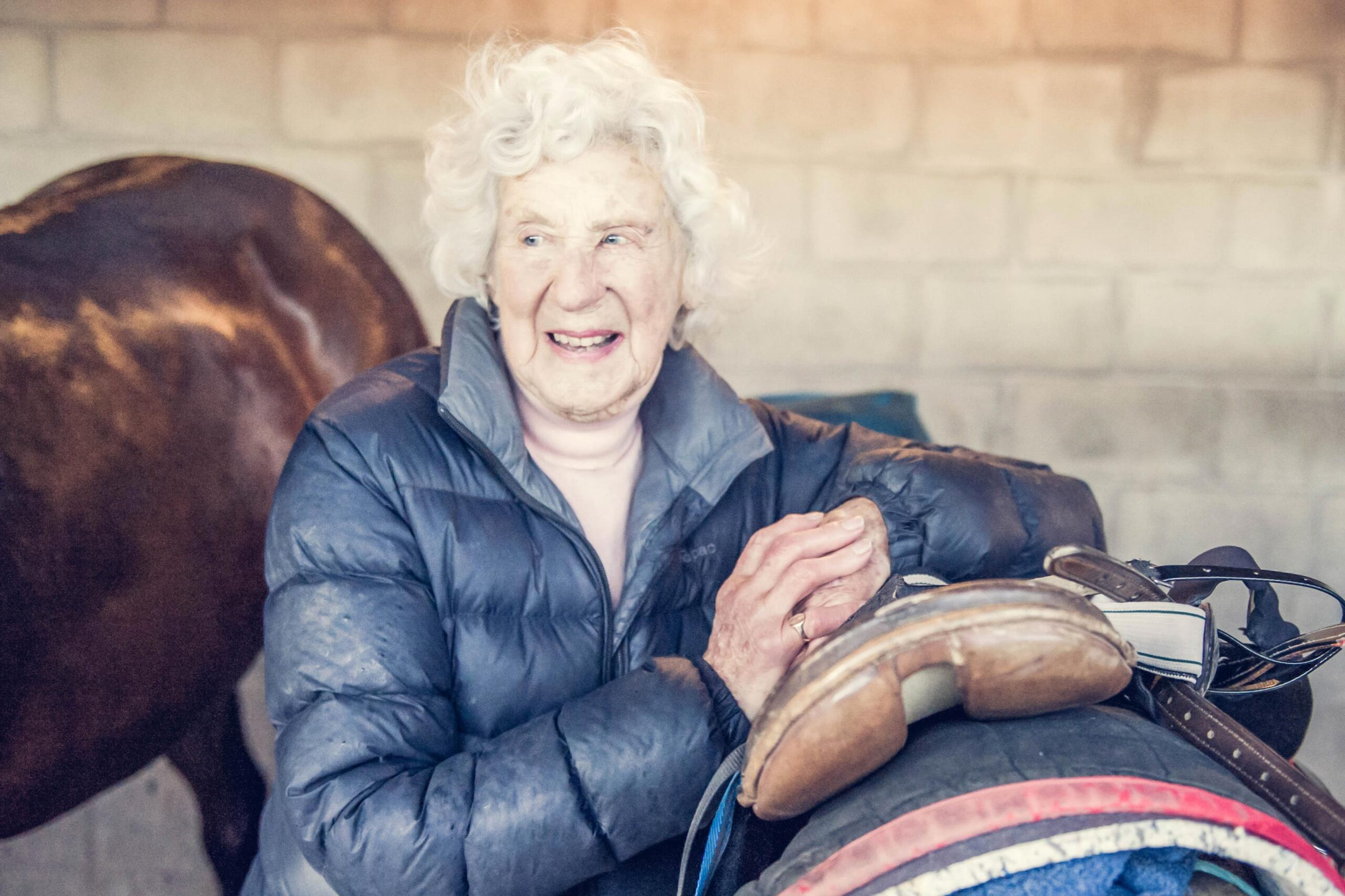 100-year-old Barbara Blackie will have a runner at Ashburton on Tuesday.