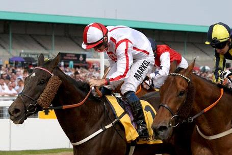 Who Dares Wins winning the Northumberland Plate.