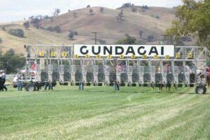 Treading warily on the punt at Gundagai