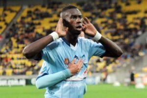 Former Sydney FC striker Bernie Ibini.