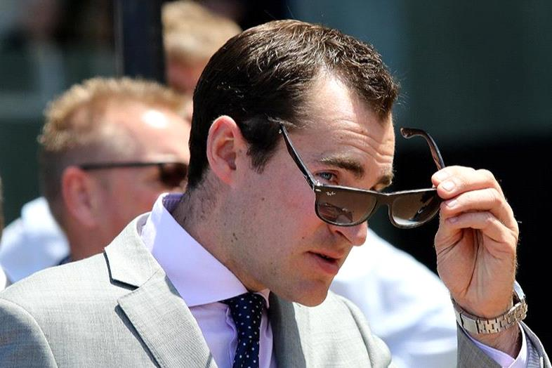 Archie Alexander might have to check his eyes if Andrea Mantegna notches a win at Warrnambool.