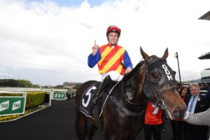 Tommy Berry and Pierata.
