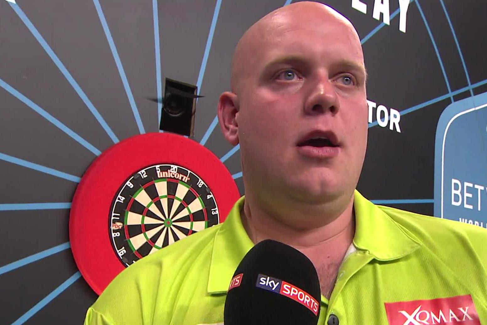 This darts World Champion hardly misses. I'm hoping to channel some of his energy this weekend.