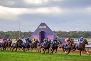They're racing at Geraldton in the west on Saturday.