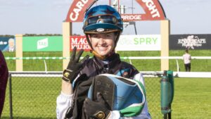 Apprentice jockey Stacey Metcalfe was given a two-month suspension. Picture: Atkins Photography