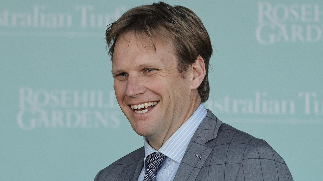Trainer Bjorn Baker has a number of strong contenders at Gosford on Saturday. Photo: Mark Evans/Getty Images