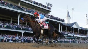 Kentucky Derby winner Medina Spirit failed a post-race drug test. Photo: Tim Nwachukwu/Getty Images
