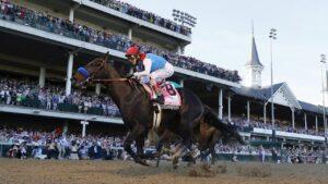 Kentucky Derby winner Medina Spirit failed a post-race drug test. Photo: Tim Nwachukwu/Getty Images