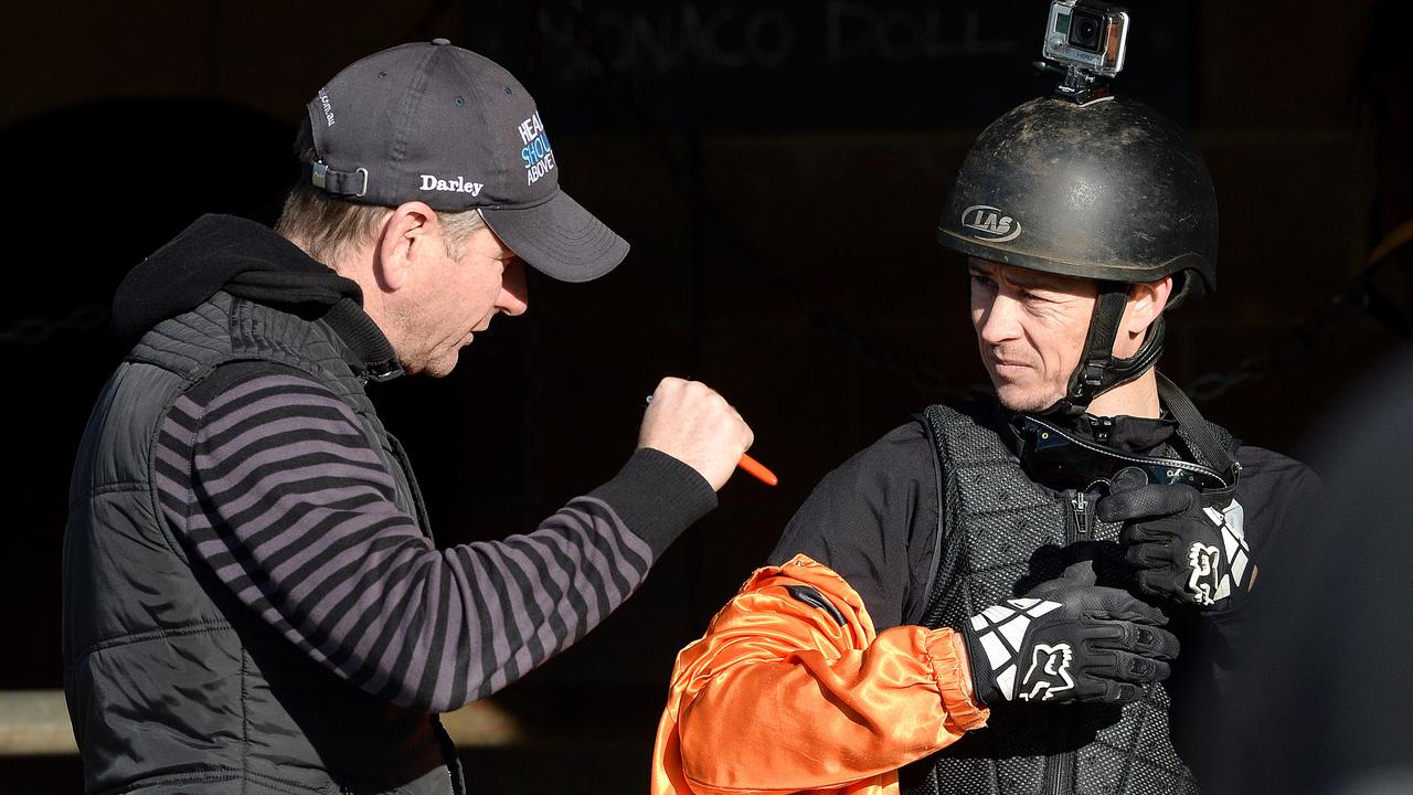 Expecting trainer Kris Lees and jockey Andrew Gibbons to be prominent at Tamworth on Monday. Photo: Peter Lorimer