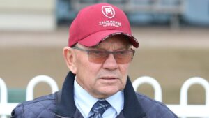 Trainer Gary Moore has a couple of stronger chances at Hawkesbury on Thursday. Photo: Grant Guy