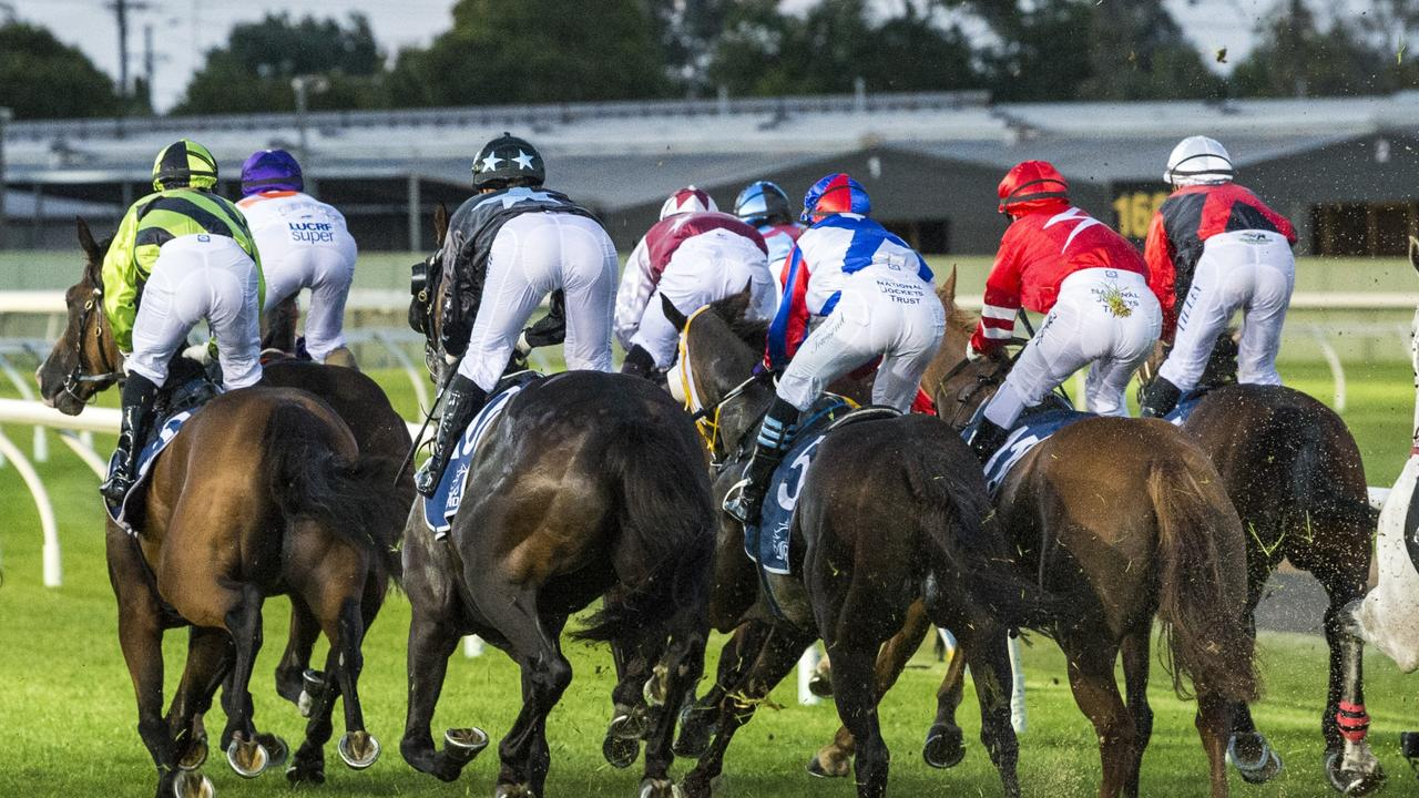 Anacheeva Lad was scratched from a race at Toowoomba last week.