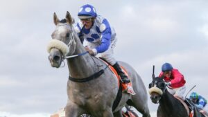 Ollie aboard Riot and Rose gives us a reminder he's still one of the best. Picture: Racing Photos