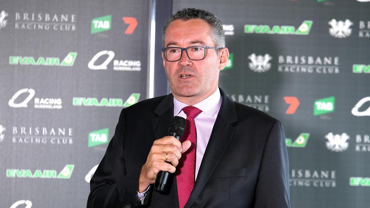Racing Queensland CEO Brendan Parnell. Photo: John Gass/ AAP