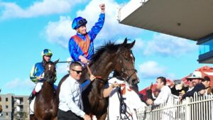 James McDonald had his careless riding ban overturned. Picture: Trackside Photography