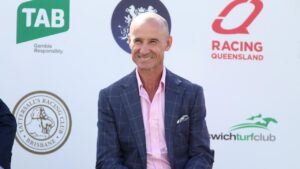 Jockey Glenn Boss is back home in Queensland for the TAB Queensland Winter Racing Carnival. Picture: Tara Croser