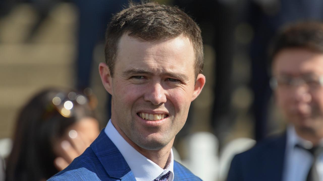 Trainer Cody Morgan will send Ice In Vancouver to Randwick on Saturday. Picture: AAP