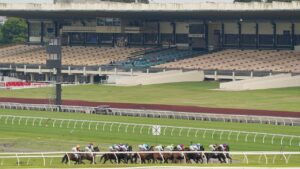 Any potential sale of the Sandown Racecourse could be derailed by a new Victorian Government tax. Picture: AAP