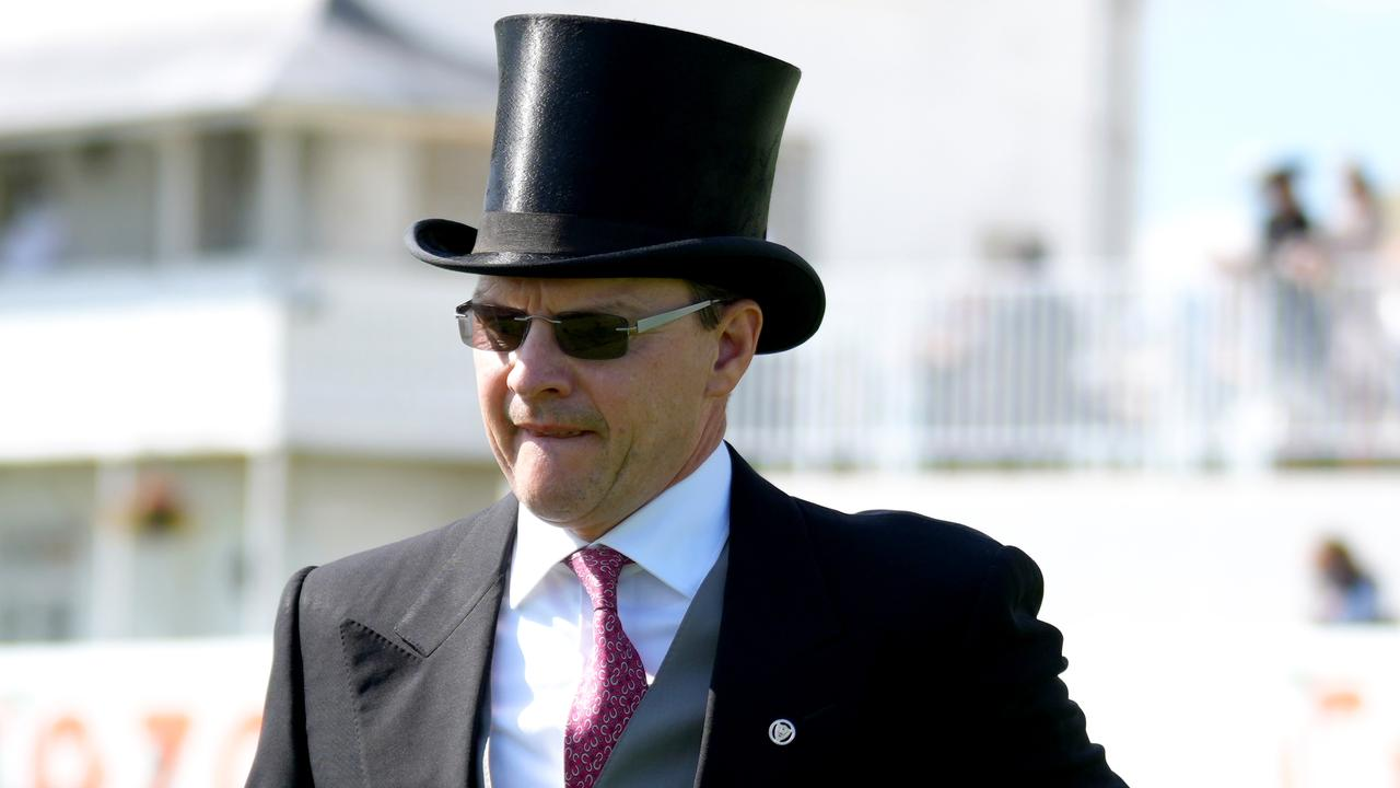 Trainer Aidan O'Brien has all but ruled out bringing horses to Australia this year. Picture: Getty