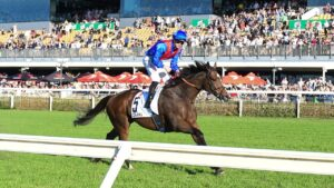 Zaaki returned a positive swab after the JRA Plate. Picture: Grant Peters/Trackside Photography
