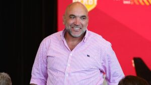 Gorden Tallis is the inspiration behind the naming of Raging Bull. Picture: Lachie Millard
