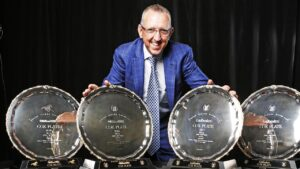 Winx co-owner Peter Tighe has won many big races, including four Cox Plates, but not an Ipswich Cup. Picture: Zak Simmonds