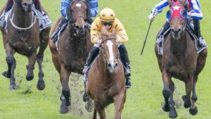James McDonald rides Royalzel to a comfortable victory at Rosehill. Picture: Getty Images
