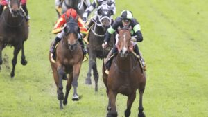 Stockman relished the heavy conditions to win the McKell Cup at Rosehill. Picture: Getty Images