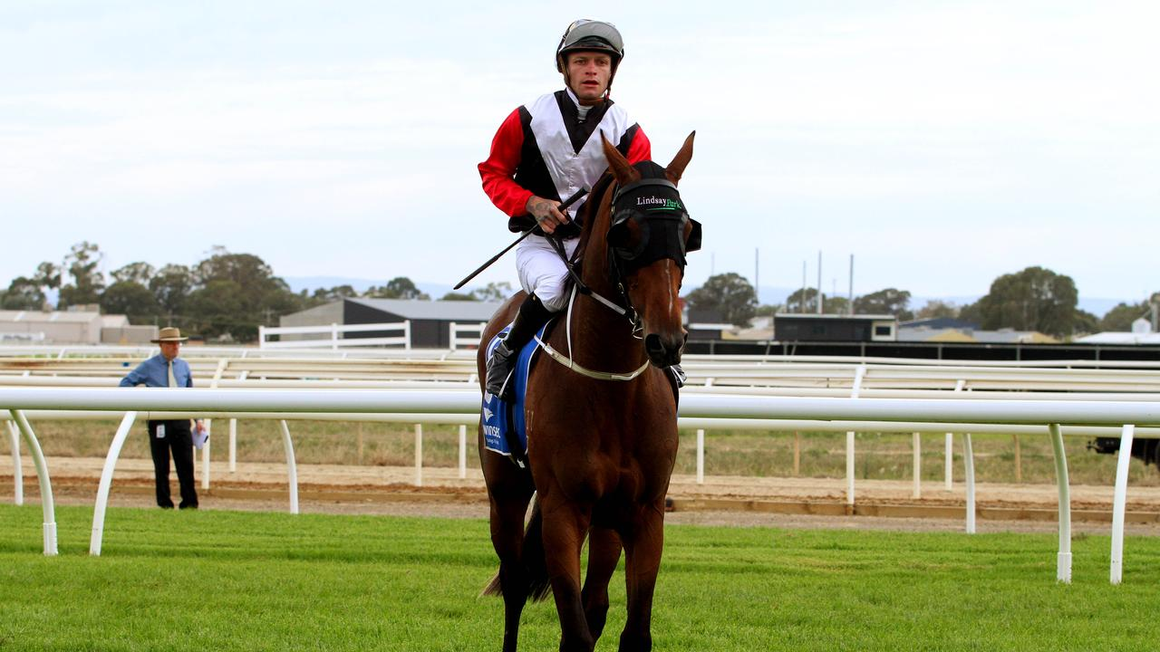 Blaike McDougall has a strong hand at Wangaratta on Monday. Picture: Getty