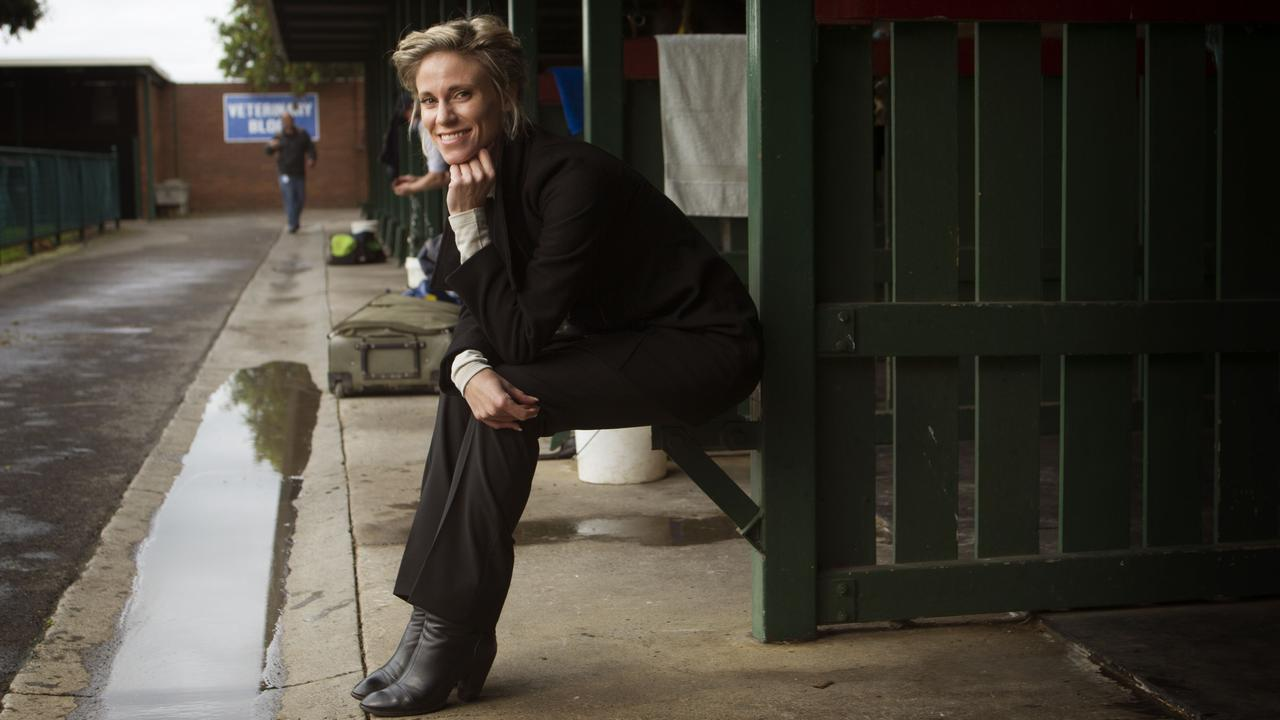 Racing Victoria's veterinary services manager Grace Forbes. Photo: News Corp Australia.