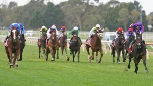 Sale Racecourse could be in line to host Victoria's first Good Friday meeting. Picture: Racing Racing Photos via Getty Images