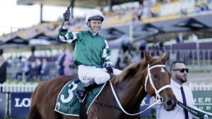 Kerrin McEvoy is one of the star jockeys hoping to ride in Queensland's Group 1 Tattersall's Tiara meeting. Picture: Getty Images