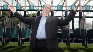 Gold Coast Turf Club chairman Brett Cook. Picture: Richard Gosling