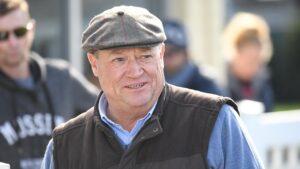 Trainer Tony McEvoy.