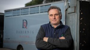 Tom Dabernig wanted to start his own training operation that could hopefully turn into a family business. Picture: Robin Sharrock