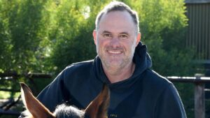 David Jolly has promising filly Miss Mucinni lining up at Gawler. Picture: Mark Brake
